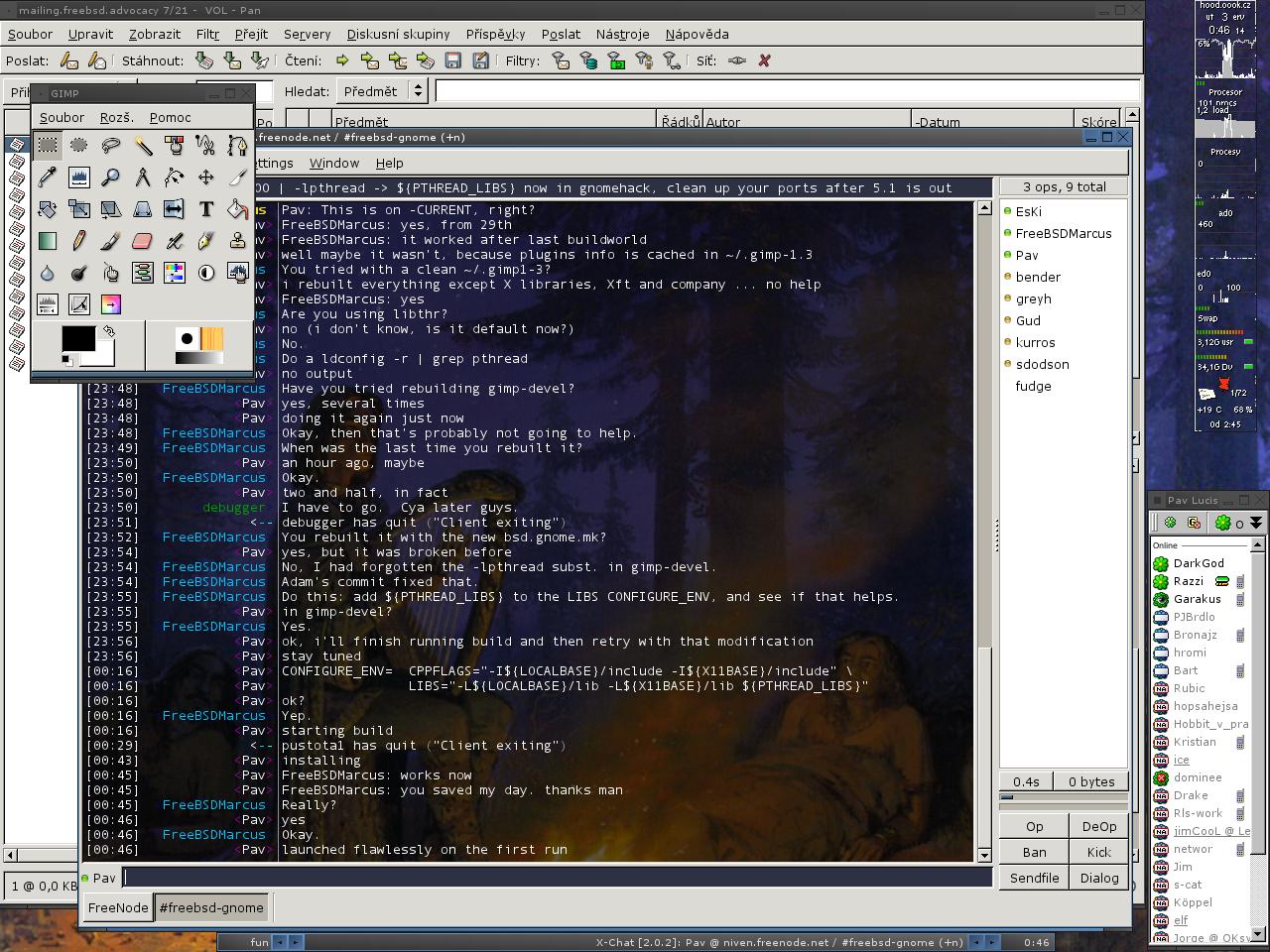 Páv Lučištník - screenshots